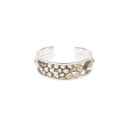 Authentic Second Hand Tod's Python Cuff Bracelet (PSS-515-00096)