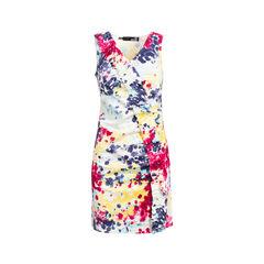 Printed Ruffle Dress