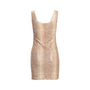 Authentic Second Hand Roccobarocco Snakeskin Print Dress (PSS-560-00004) - Thumbnail 1