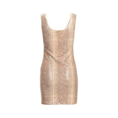 Roccobarocco snakeskin print dress 2?1540364383