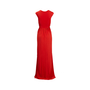 Authentic Second Hand Donna Karan Draped Jersey Gown (PSS-534-00017) - Thumbnail 1