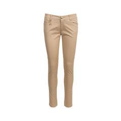 Charm Detail Khaki Pants