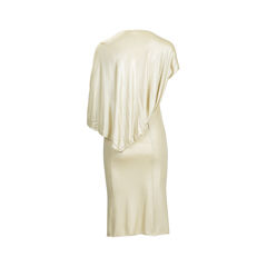 Roccobarocco draped back jersey dress 1?1540366190