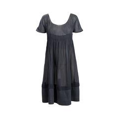 Empire Line Pleated Dress