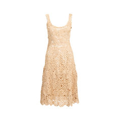 Crochet Textured Dress
