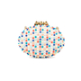Authentic Pre Owned Christian Louboutin Spike Mina Clutch (PSS-534-00006) - Thumbnail 2