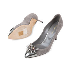 Sergio rossi emebllished toe cap pumps 2?1540370705