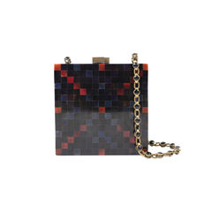 Chequered Box Clutch