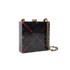 R y augousti checquered box clutch 2?1540370824