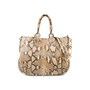 Authentic Pre Owned Bally Python Satchel Bag (PSS-534-00005) - Thumbnail 0