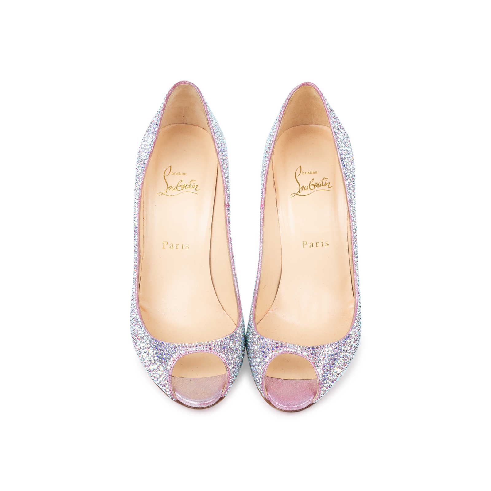 new style c5dac 9c085 Authentic Second Hand Christian Louboutin Sexy Strass ...