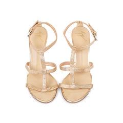 Glitter T-Strap Sandals