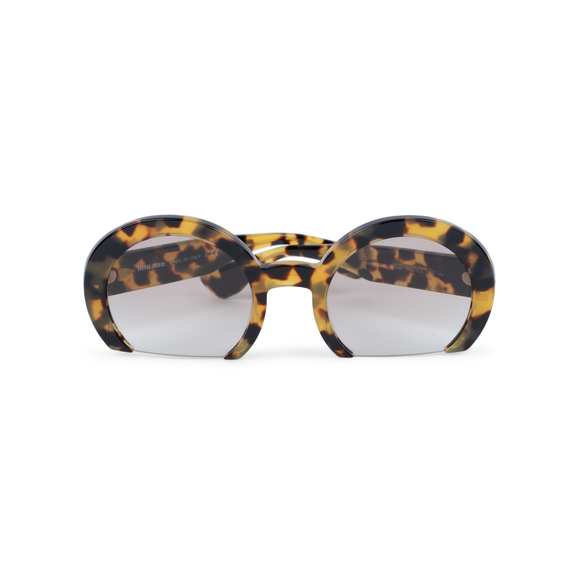 6aee342d7357 Authentic Second Hand Miu Miu Rasoir Cutoff Sunglasses (PSS-552-00040) - THE  FIFTH COLLECTION