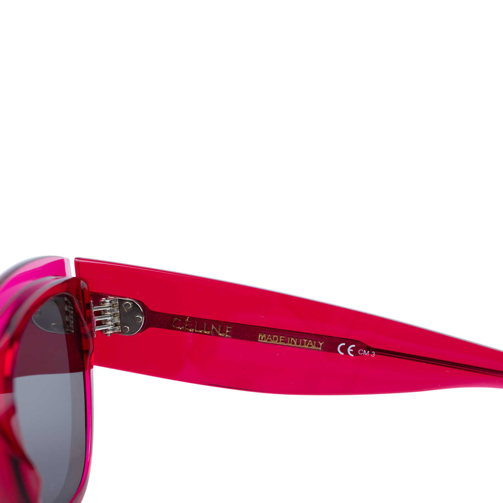 1679511dcccd ... Authentic Second Hand Céline Zoe Fuschia Sunglasses (PSS-559-00003) -  Thumbnail ...