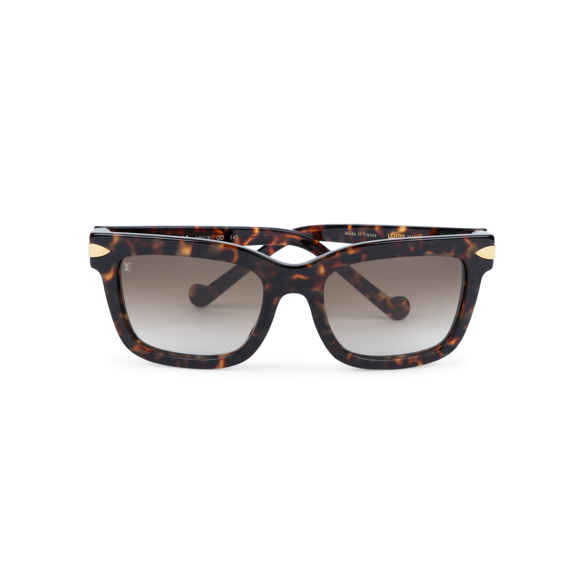 0f7452a64e Authentic Second Hand Louis Vuitton Tortoise Shell Sunglasses  (PSS-559-00006)