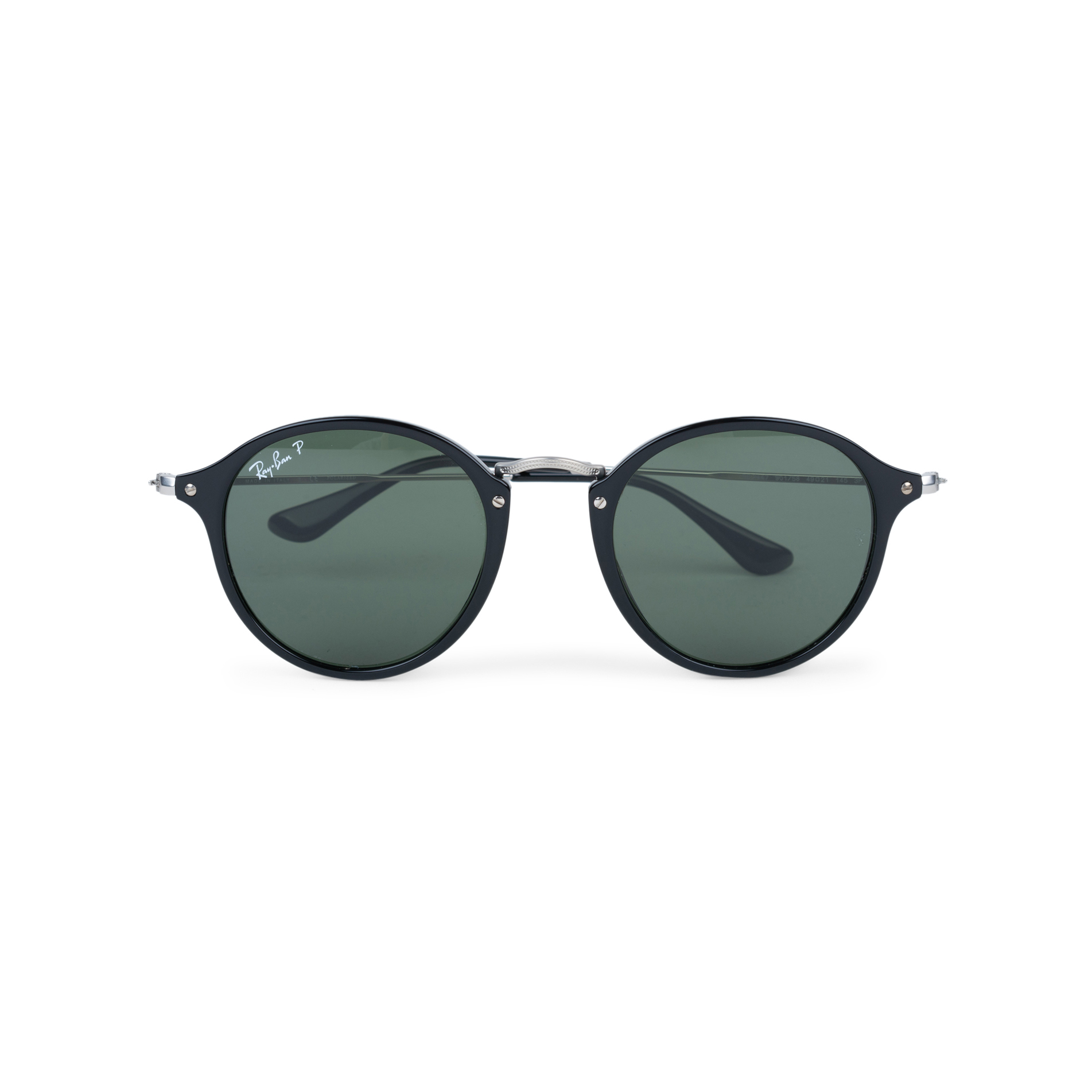 76c431bd19 Authentic Second Hand Ray Ban Round Fleck Sunglasses (PSS-559-00011 ...
