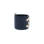 Authentic Pre Owned Chanel 'CC' Leather Cuff Bracelet (PSS-559-00004) - Thumbnail 2