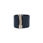 Authentic Pre Owned Chanel 'CC' Leather Cuff Bracelet (PSS-559-00004) - Thumbnail 3