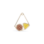 Authentic Pre Owned Loewe Double Meccano Pin Broncead (PSS-559-00009) - Thumbnail 1