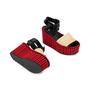 Authentic Pre Owned Céline Straw Flatform Sandals (PSS-559-00019) - Thumbnail 2