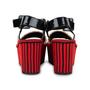 Authentic Pre Owned Céline Straw Flatform Sandals (PSS-559-00019) - Thumbnail 5