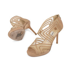 Jimmy choo mesh cut out sandals 2?1540800805