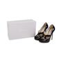 Authentic Second Hand Jimmy Choo Patent Cut Out Pumps (PSS-565-00013) - Thumbnail 6