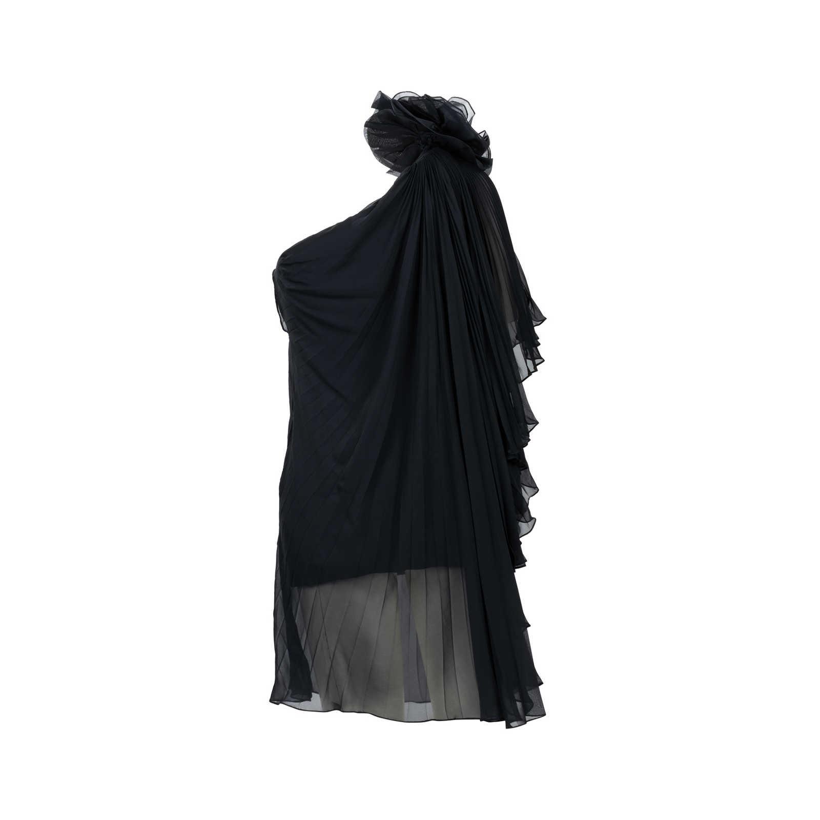 fb36a2d0dfe ... Authentic Second Hand Marchesa Notte Flower Toga Dress (PSS-565-00007)  ...