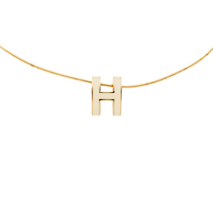 Authentic Pre Owned Hermès Pop H Necklace (PSS-551-00002)