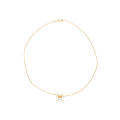 Hermes pop h necklace metallic 2?1540873320