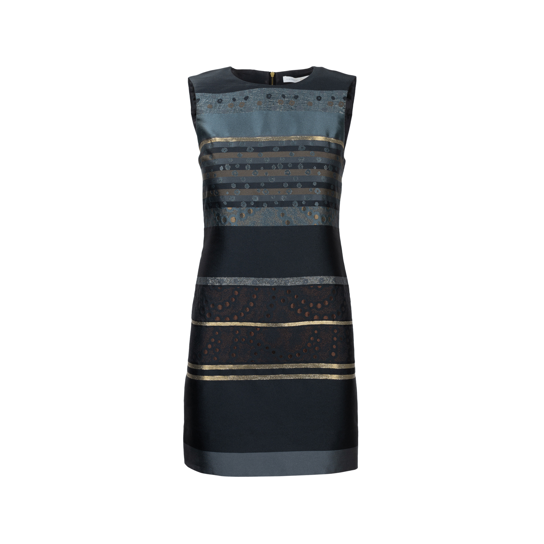 063c4df8f Authentic Second Hand Victoria Victoria Beckham Embroidered Shift Dress  (PSS-565-00001) - THE FIFTH COLLECTION