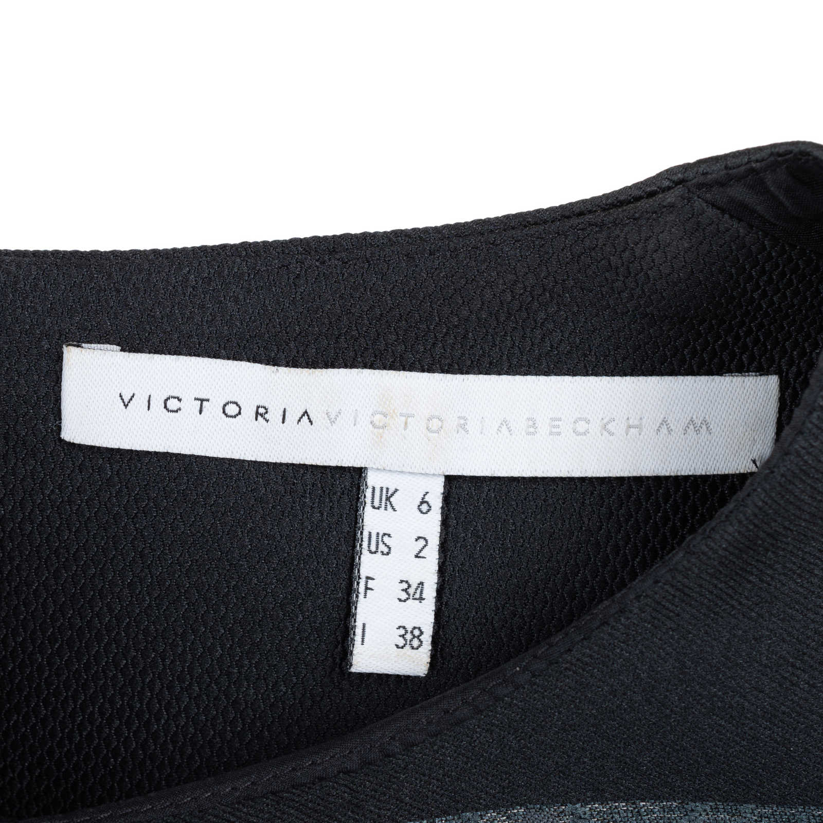 b30a9710e ... Authentic Second Hand Victoria Victoria Beckham Embroidered Shift Dress  (PSS-565-00001)