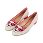 Authentic Second Hand Charlotte Olympia Sunkissed Kitty Embroidered Flats (PSS-569-00010) - Thumbnail 3