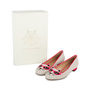 Authentic Second Hand Charlotte Olympia Sunkissed Kitty Embroidered Flats (PSS-569-00010) - Thumbnail 6