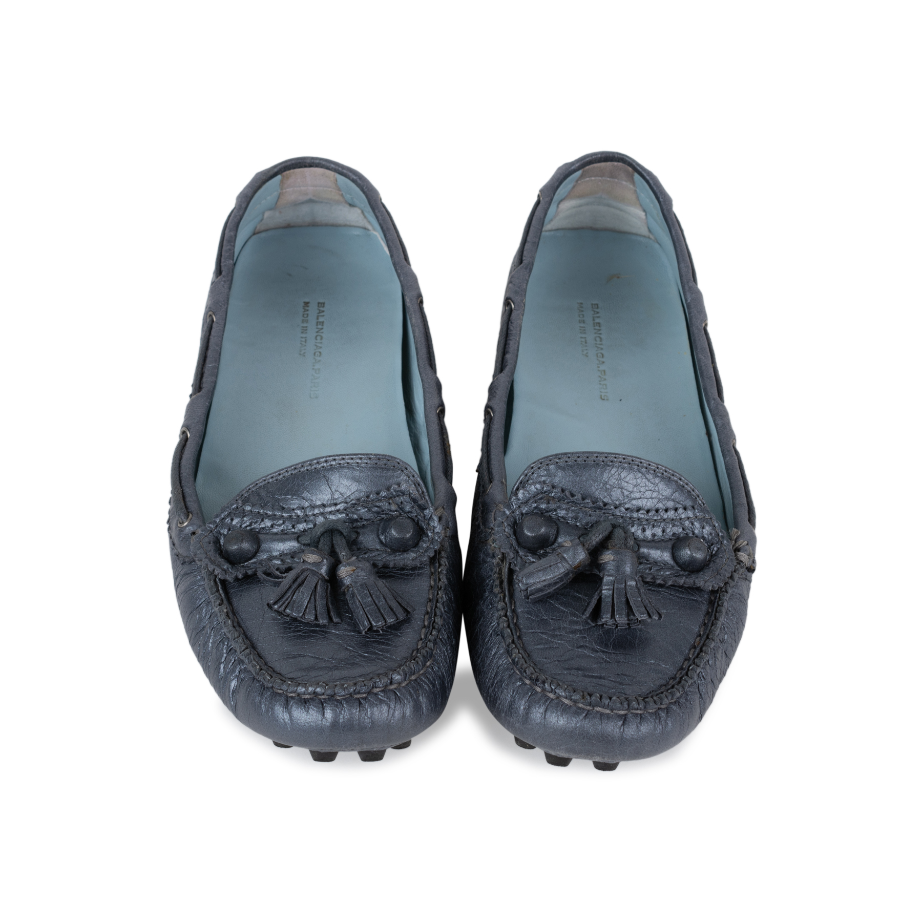0ea8553b0776 Authentic Second Hand Balenciaga Arena Tassel Loafers (PSS-569-00012 ...