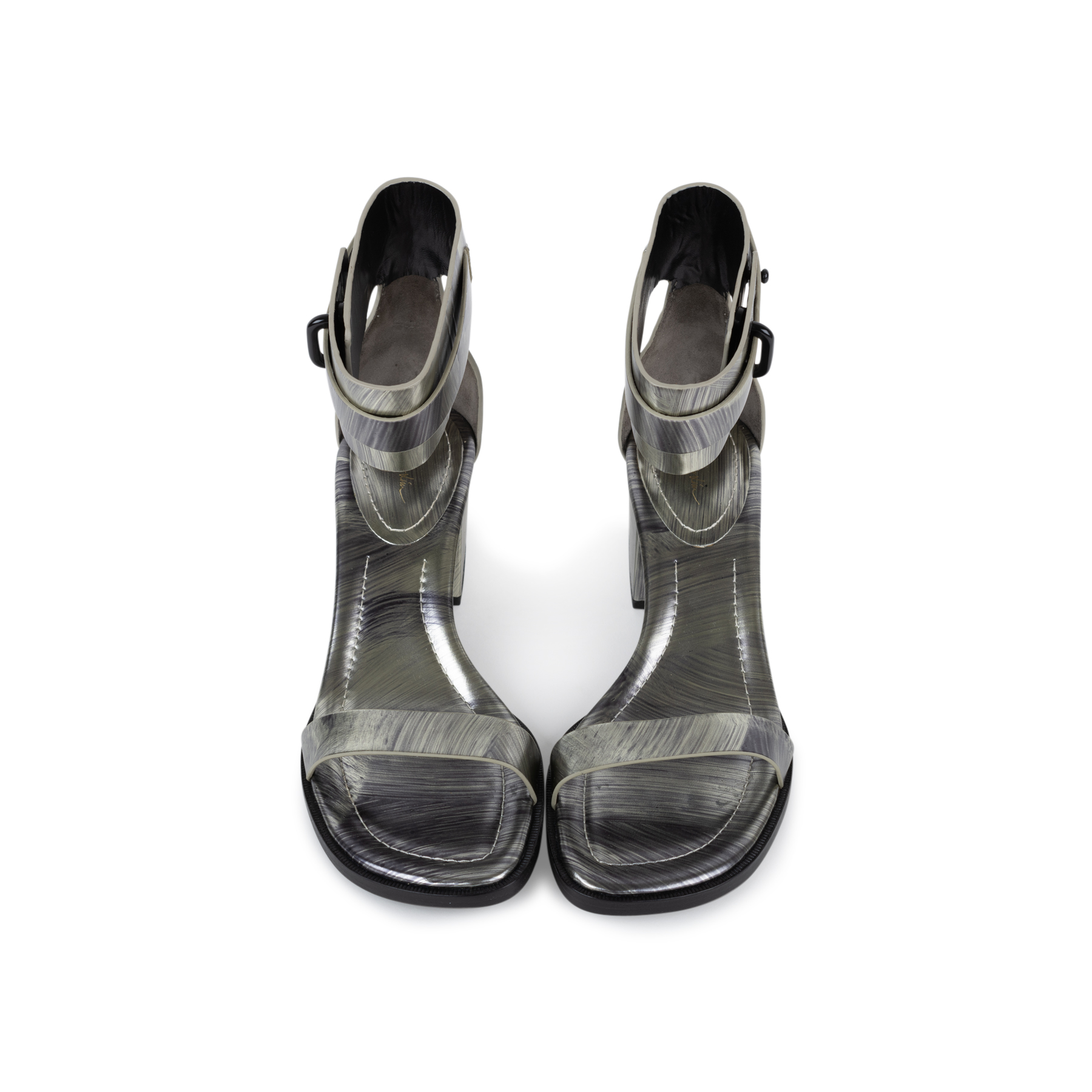 220d226a67c Authentic Second Hand 3.1 Phillip Lim Coco Metallic Mid-Heel Sandals  (PSS-569-00014)