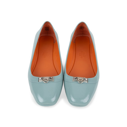 Authentic Second Hand Hermès Liberty Ballerina Flats (PSS-569-00024)
