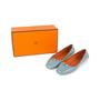 Authentic Second Hand Hermès Liberty Ballerina Flats (PSS-569-00024) - Thumbnail 6