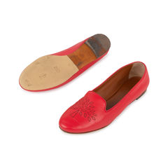 Mulberry opera slippers red 2?1541413334