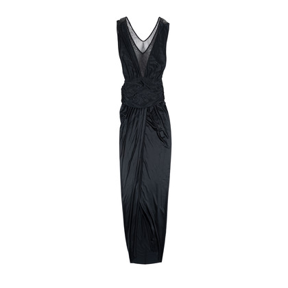 Authentic Pre Owned Yves Saint Laurent Mesh Jersey Gown (PSS-534-00014)