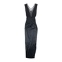 Authentic Pre Owned Yves Saint Laurent Mesh Jersey Gown (PSS-534-00014) - Thumbnail 1