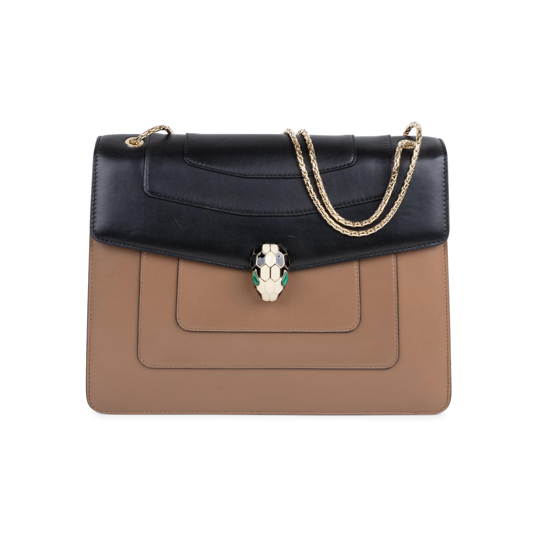 0e2227b07740 Authentic Second Hand Bulgari Serpenti Forever Flap Bag (PSS-569-00001)