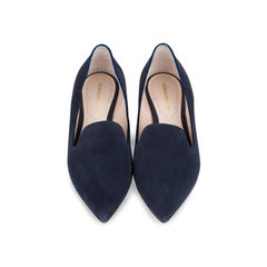 Casati Pearl-heeled Suede Loafers