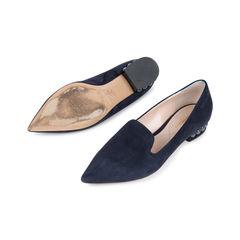 Nicholas kirkwood casati pearl heeled suede loafers 2?1541575196