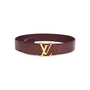Authentic Pre Owned Louis Vuitton Monogram Vernis LV Belt (PSS-099-00020) - Thumbnail 0