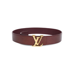 Monogram Vernis LV Belt