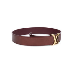 Louis vuitton monogram vernis lv belt red 2?1541575811