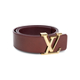 Authentic Pre Owned Louis Vuitton Monogram Vernis LV Belt (PSS-099-00020) - Thumbnail 3