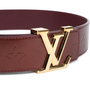 Authentic Pre Owned Louis Vuitton Monogram Vernis LV Belt (PSS-099-00020) - Thumbnail 4