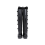 Authentic Pre Owned Emporio Armani Stretch Detail Leather Boots (PSS-099-00022) - Thumbnail 2